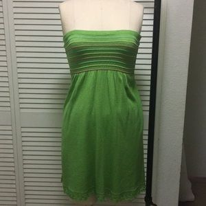 Bebe Smocked Bust Mini Dress